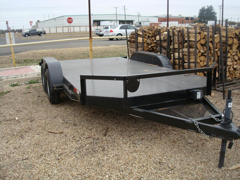2018 METAL DECK 83x16 Utility Trailer