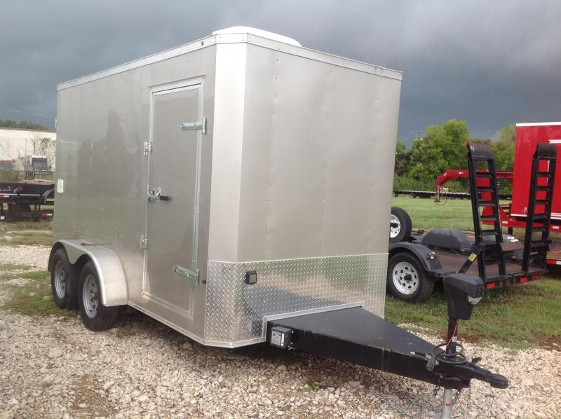 2018 Salvation Trailers 6x12 Equipment Trailer