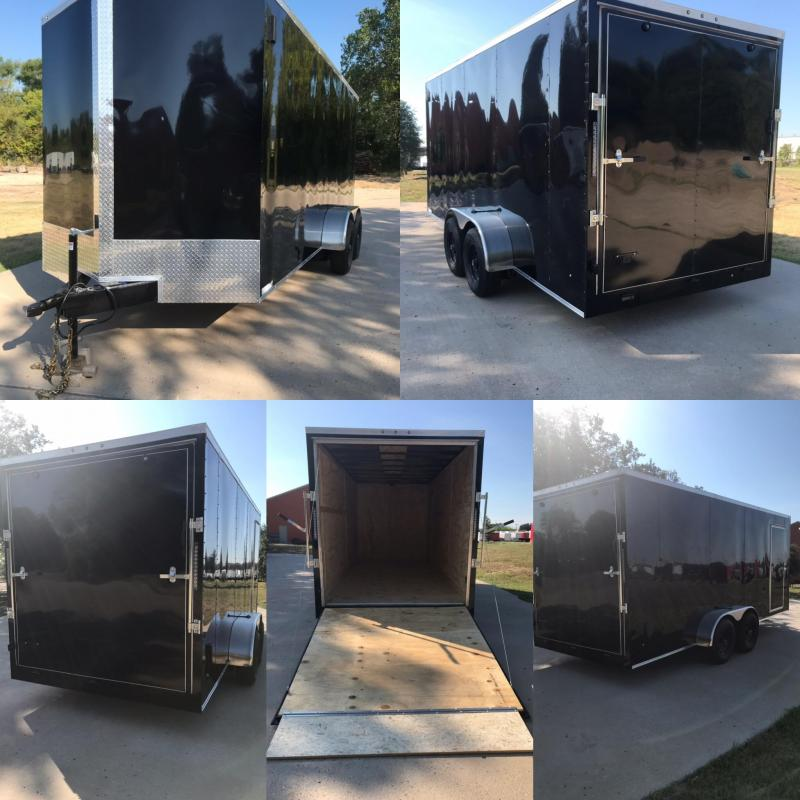 2020 Salvation Trailers 7x18 Enclosed Cargo Trailer