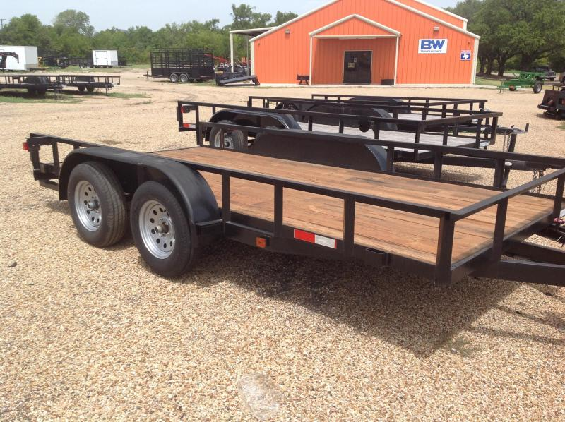 2019 Salvation Trailers 83x20 Utility Trailer