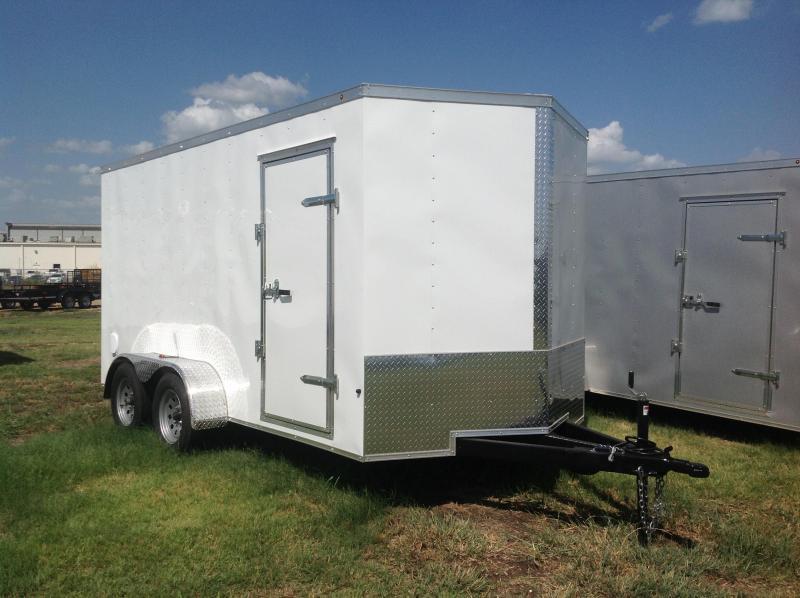 2019 Salvation Trailers 7x14 Enclosed Cargo Trailer
