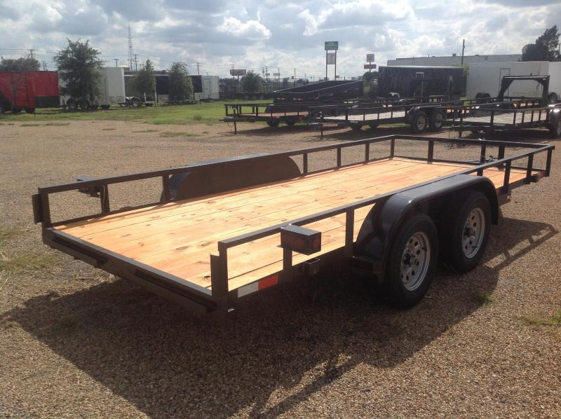 2019 Salvation Trailers 78x16 Utility Trailer