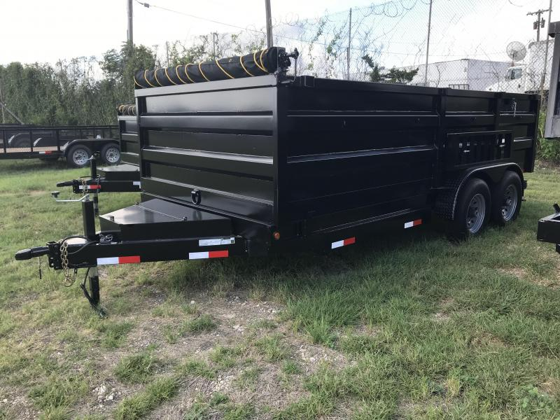 2019 Salvation 7x14 Dump Trailer