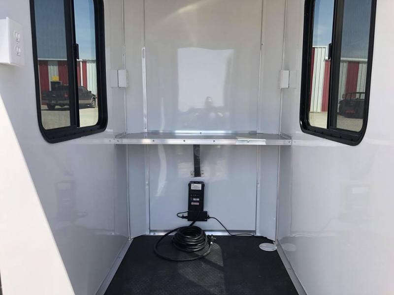 2019 Salvation 4X6 Security Trailer