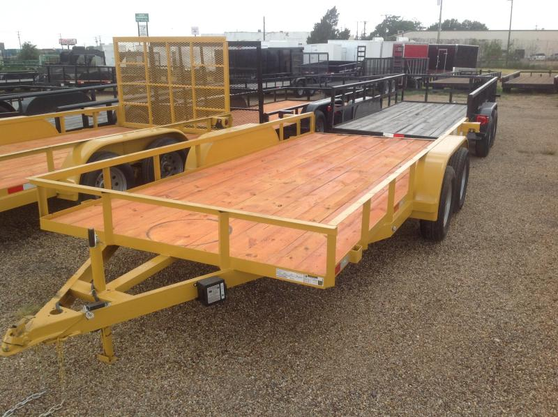 2019 Salvation Trailers 83x16 Utility Trailer