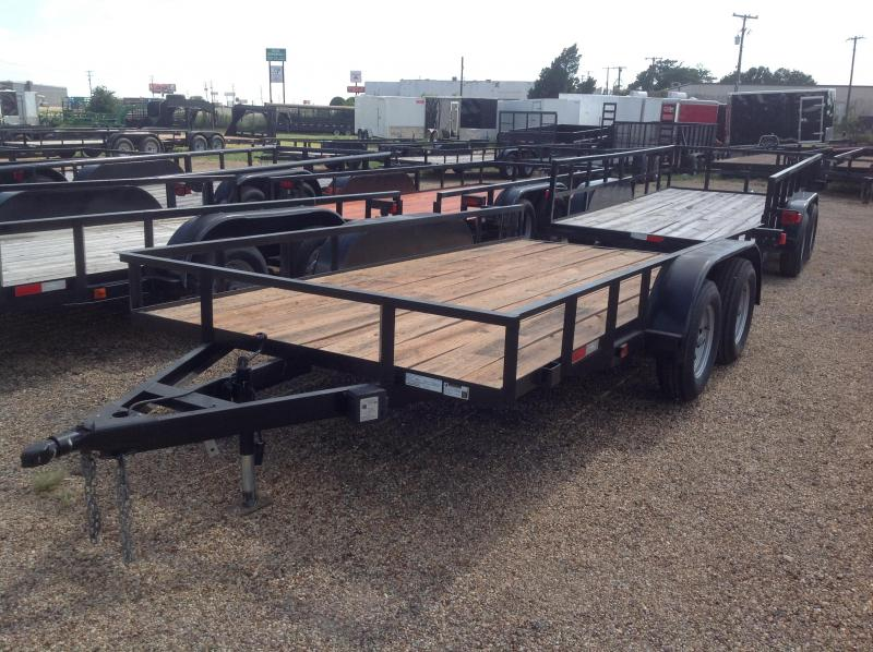 2018 Salvation Trailers 77x14 Flatbed Trailer