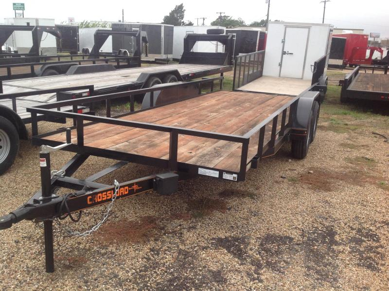2019 Salvation Trailers 78x18 Utility Trailer