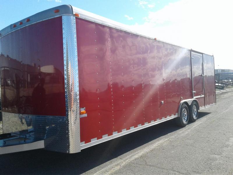 2010 Cargo Craft 8.5X28 RED Car / Racing Trailer
