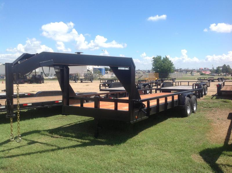 2018 Salvation Trailers 24 gooseneck Equipment Trailer