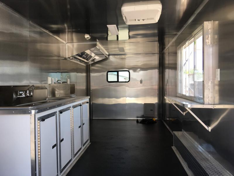2019 8.5X20TA Vending / Concession Trailer