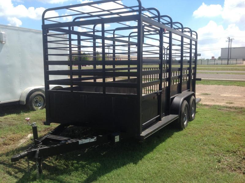 2019 Salvation 77x14 Cattle Trailer