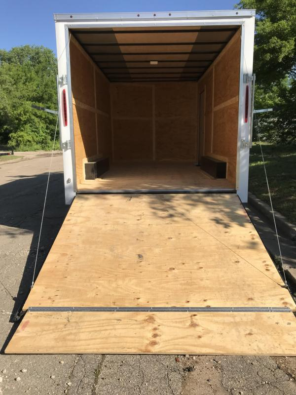 2019 Salvation 8.5x16 Enclosed Cargo Trailer