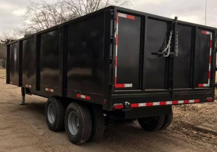 2019 Salvation 8x20 Dump Trailer