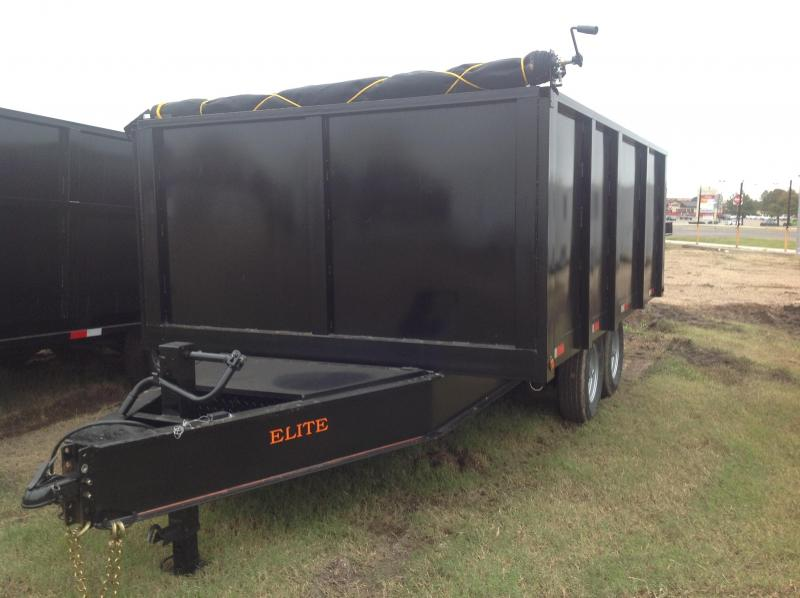 2018 Salvation Trailers 8x14 dump Dump Trailer