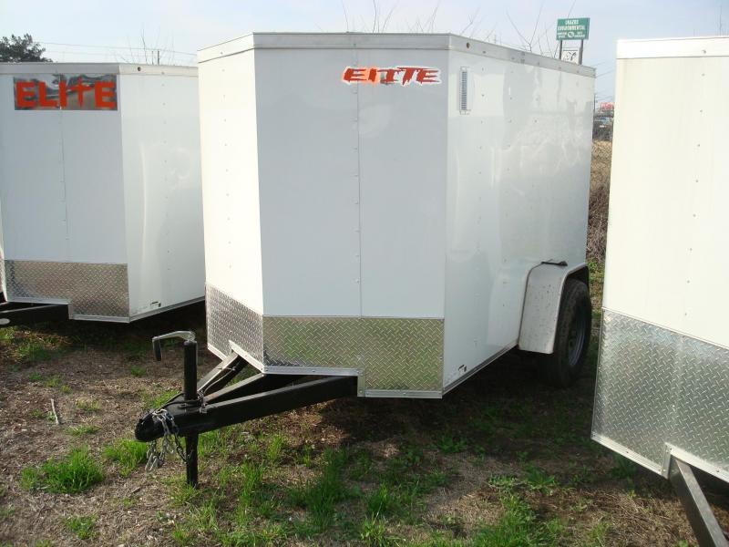 2018 Salvation Trailers 5X8 Enclosed Cargo Trailer