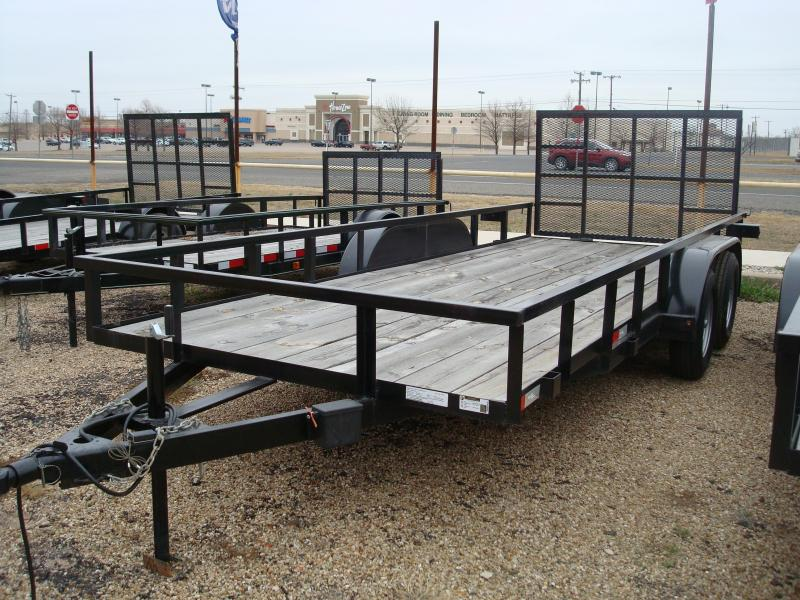 2017 Salvation Trailers 83x18 Utility Trailer