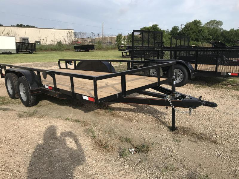 2018 Salvation 78x16 Utility Trailer