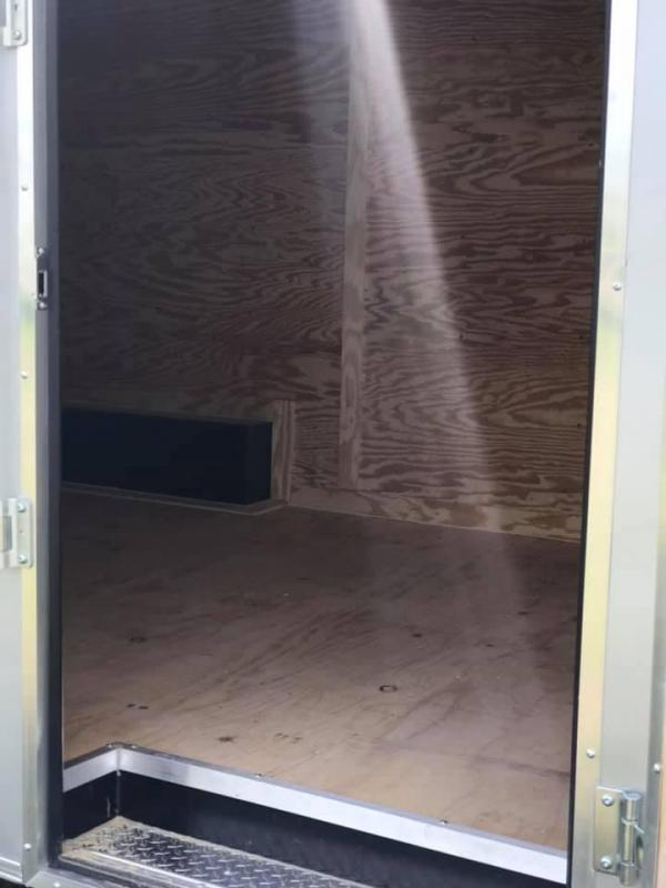 2019 Salvation 8.5x20 Enclosed Cargo Trailer