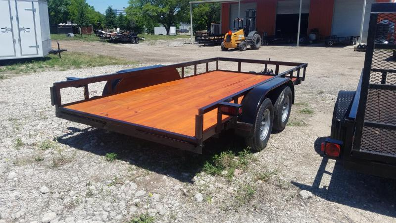 2018 Salvation Trailers 77X14 Utility Trailer