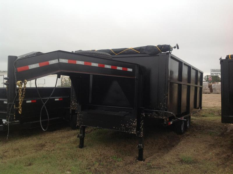2018 Salvation Trailers 8x16 dump Dump Trailer