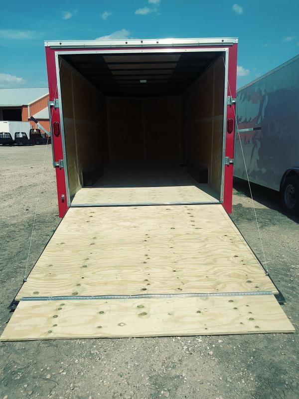 2018 Salvation Trailers 8.5x20 Enclosed Cargo Trailer