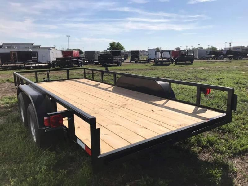 2019 Salvation 77x16 Utility Trailer