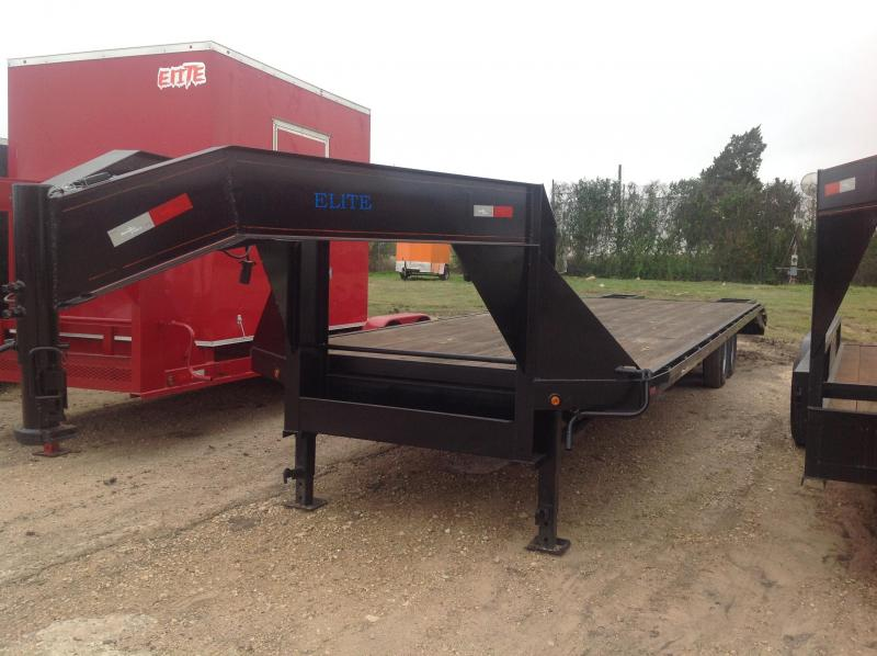 2018 Salvation Trailers 32 gooseneck Flatbed Trailer