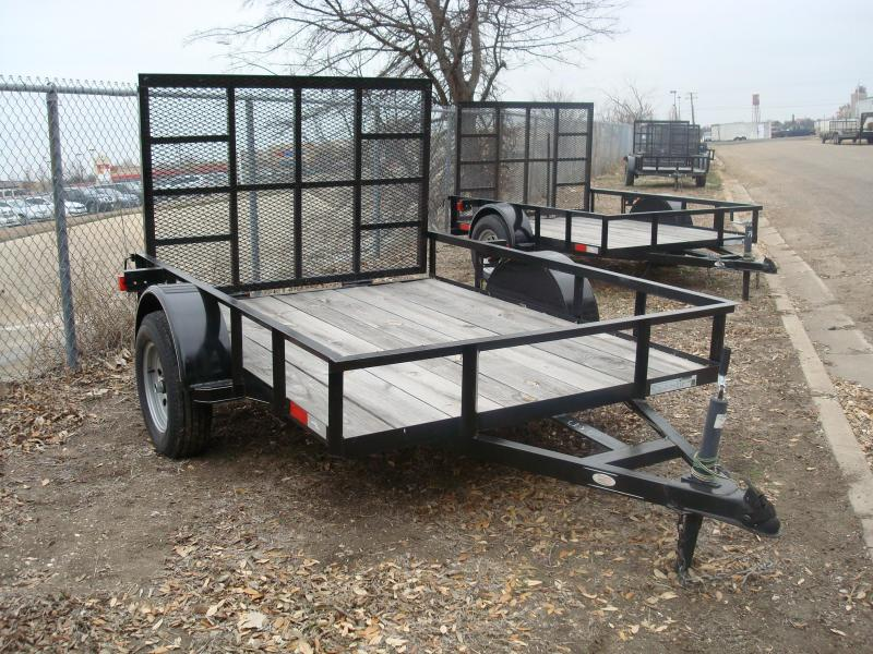 2018Salvation Trailers 6X8SA Utility Trailer