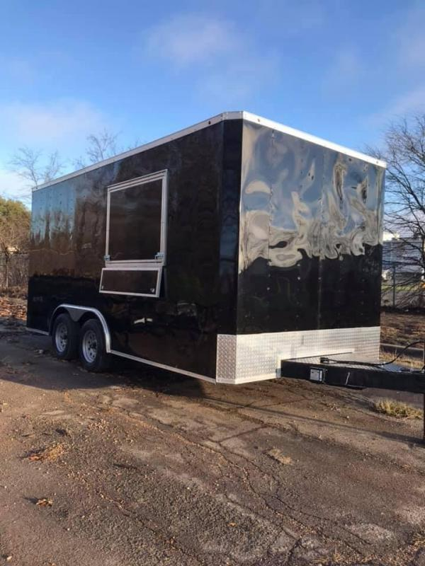 2019 Salvation  8.5x16 Vending / Concession Trailer