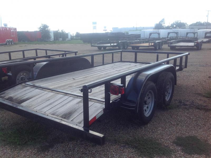 2019 Salvation Trailers 83x14 Utility Trailer