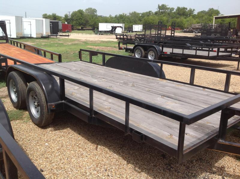 2018 Salvation Trailers 83x12 Utility Trailer