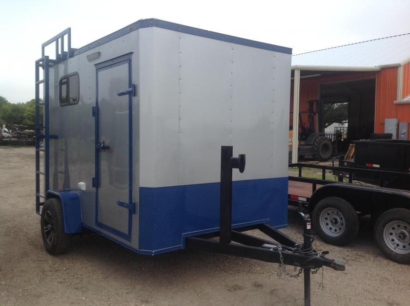 2019 Salvation Trailers 7x10 Motorcycle Trailer