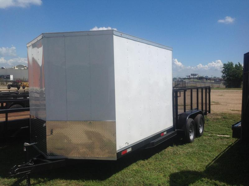 2018 Salvation Trailers 83x20 Equipment Trailer