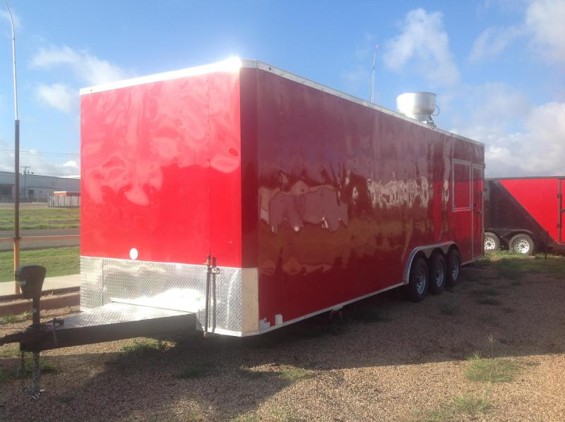 2019 Salvation Trailers 8.5X28 Vending / Concession Trailer