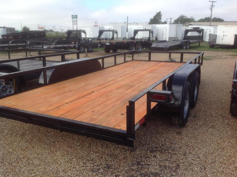 2018 Salvation Trailers 78x16 Utility Trailer