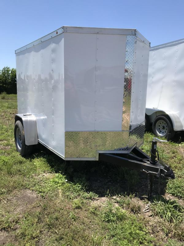 2018 Salvation 5X8 Enclosed Cargo Trailer
