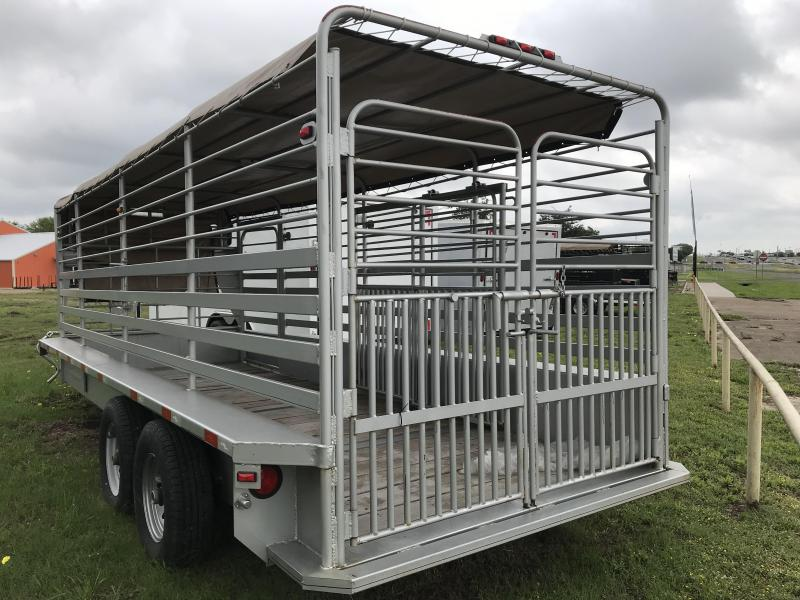 2018 Salvation 20ft livestock Equipment Trailer
