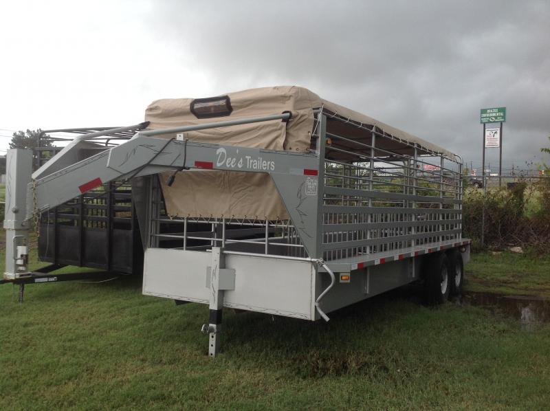 2018 Salvation Trailers 20ft livestock Equipment Trailer