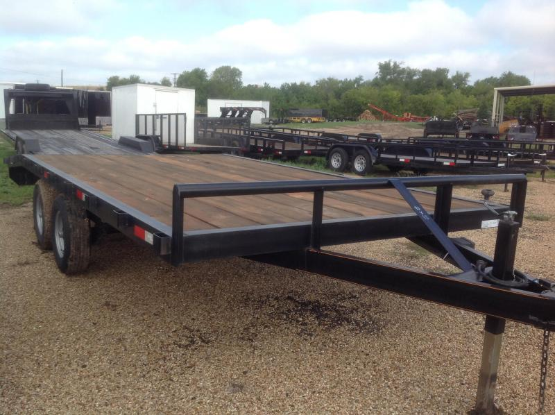 2018 Salvation Trailers 96x18 Equipment Trailer