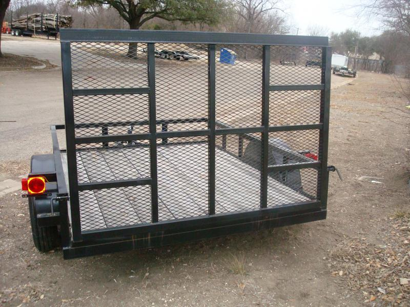 2018 Salvation Trailers 6X8SA Utility Trailer