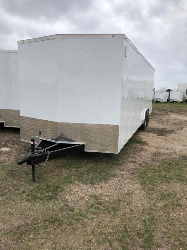 2018 8.5X24 CARGO Enclosed Cargo Trailer