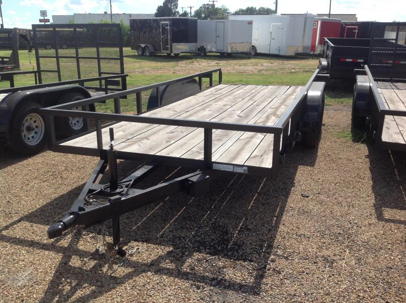 2018 Salvation Trailers 77x18 Utility Trailer