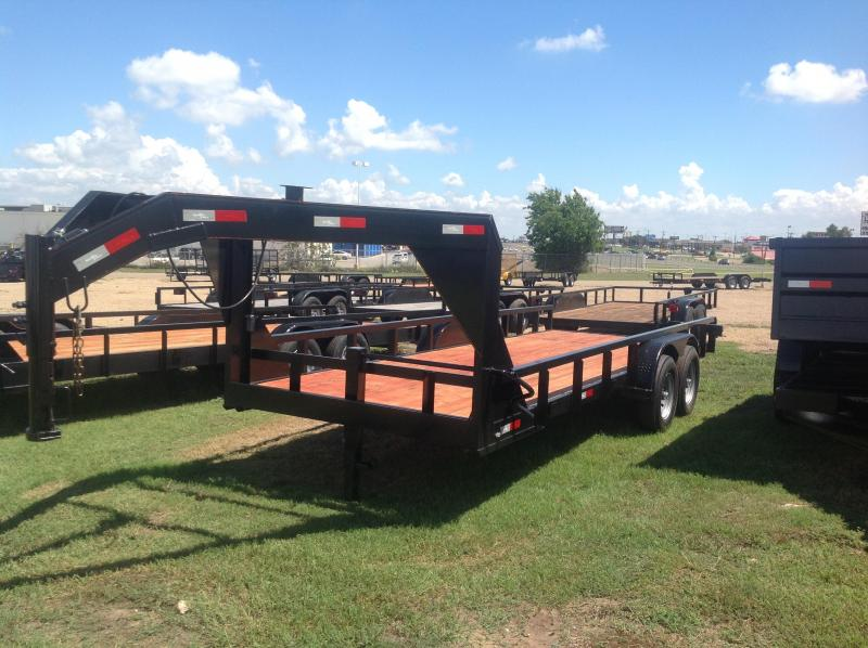 2019 Salvation Trailers 20 gooseneck Equipment Trailer