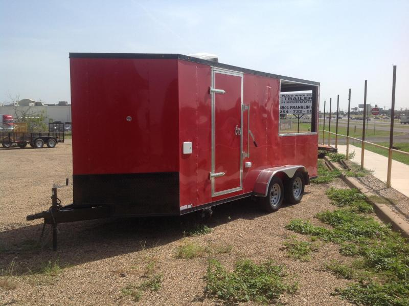 2019 Salvation Trailers 7x16 Vending / Concession Trailer