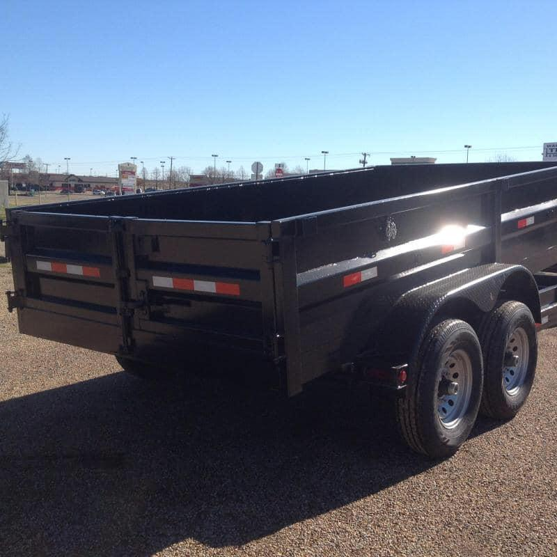 2019 Salvation 7x14 dump 14k Dump Trailer