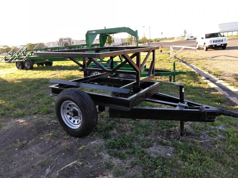 2018 Salvation Trailers 1 Bale HAY Utility Trailer