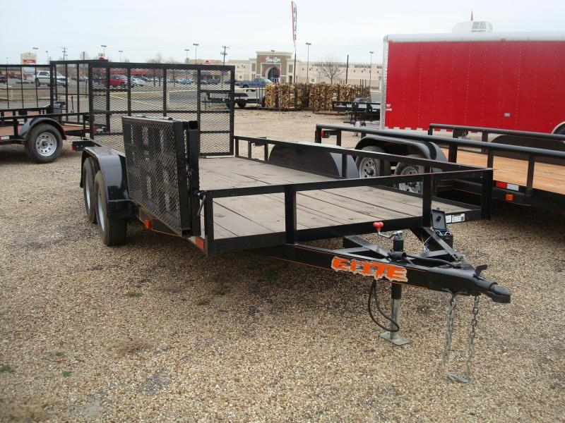 2017 Salvation Trailers 78X16 Utility Trailer