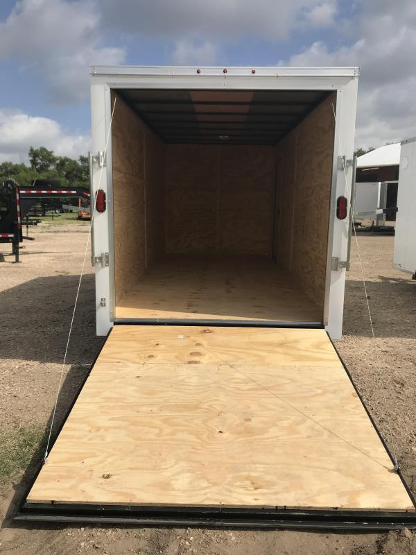 2018 Salvation 7x16 Enclosed Cargo Trailer