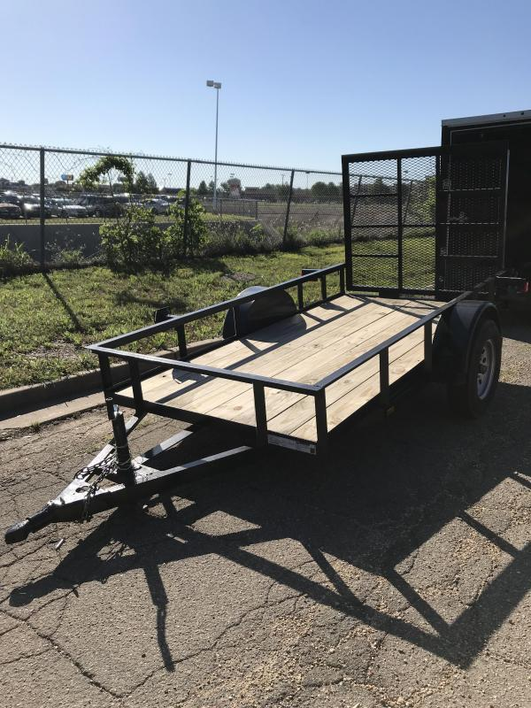 2019 Salvation 5x10 Utility Trailer