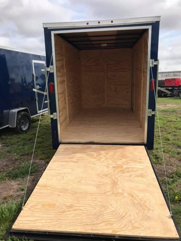 2019 Salvation 6x12 Enclosed Cargo Trailer